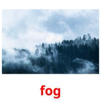 fog picture flashcards