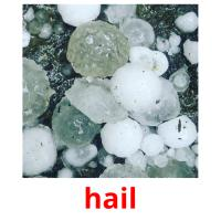 hail picture flashcards