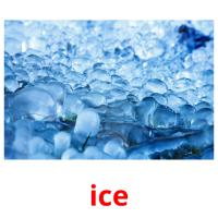 ice picture flashcards