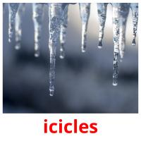 icicles picture flashcards