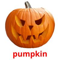pumpkin picture flashcards