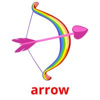 arrow picture flashcards