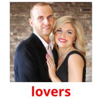 lovers picture flashcards