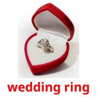 wedding ring picture flashcards