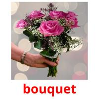 bouquet picture flashcards