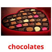 chocolates picture flashcards