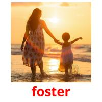 foster picture flashcards