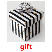 gift picture flashcards