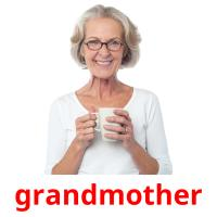 grandmother picture flashcards