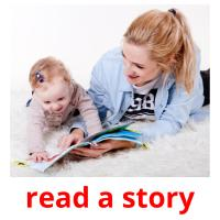 read a story picture flashcards