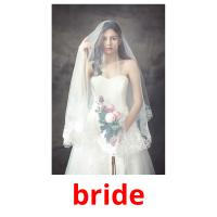 bride picture flashcards