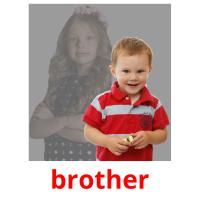 brother picture flashcards