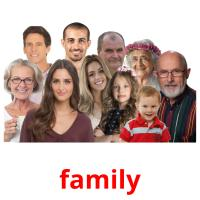 family picture flashcards