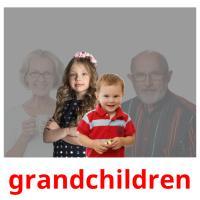grandchildren picture flashcards
