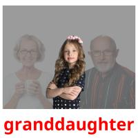 granddaughter picture flashcards