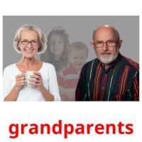 grandparents picture flashcards