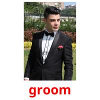 groom picture flashcards