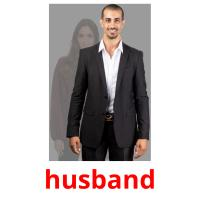 husband picture flashcards