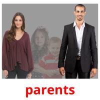 parents picture flashcards