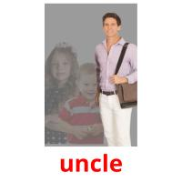 uncle picture flashcards