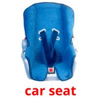 сar seat picture flashcards