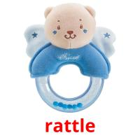 rattle picture flashcards