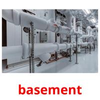 basement picture flashcards