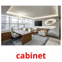 cabinet picture flashcards