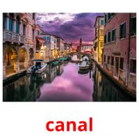 canal picture flashcards