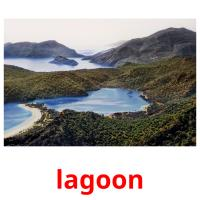 lagoon picture flashcards