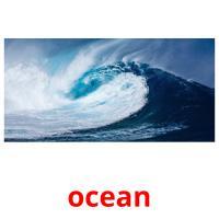 ocean picture flashcards