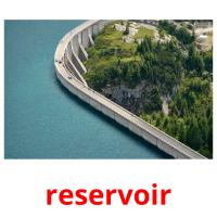 reservoir picture flashcards
