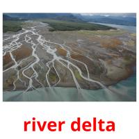 river delta picture flashcards