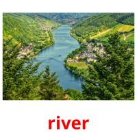 river picture flashcards