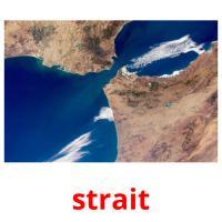 strait picture flashcards