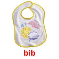 bib picture flashcards