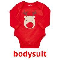 bodysuit picture flashcards
