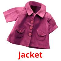 jacket picture flashcards