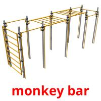 monkey bar picture flashcards