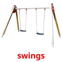 swings picture flashcards
