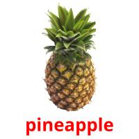 pineapple picture flashcards