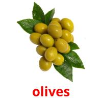 olives picture flashcards