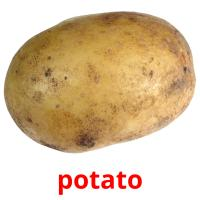 potato picture flashcards