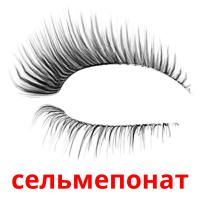 сельмепонат picture flashcards