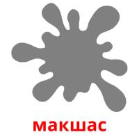 макшас picture flashcards