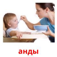 анды picture flashcards
