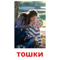 тошки picture flashcards