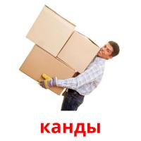канды picture flashcards