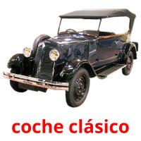 coche clásico picture flashcards