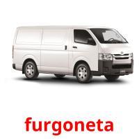 furgoneta picture flashcards